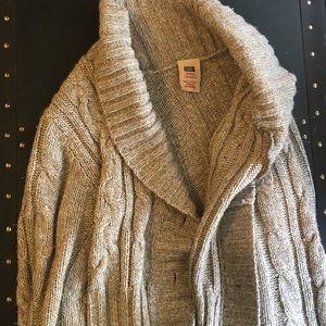 Light Brown Comfortable 1X Sweater